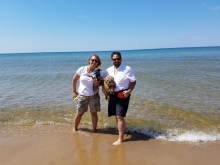 Us a Lake Michigan in the UP