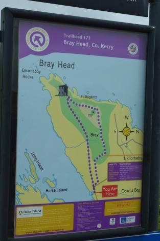 Bray Head trail map