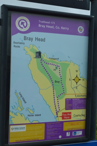 Bray Head trail map