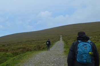 Beginning the Hike